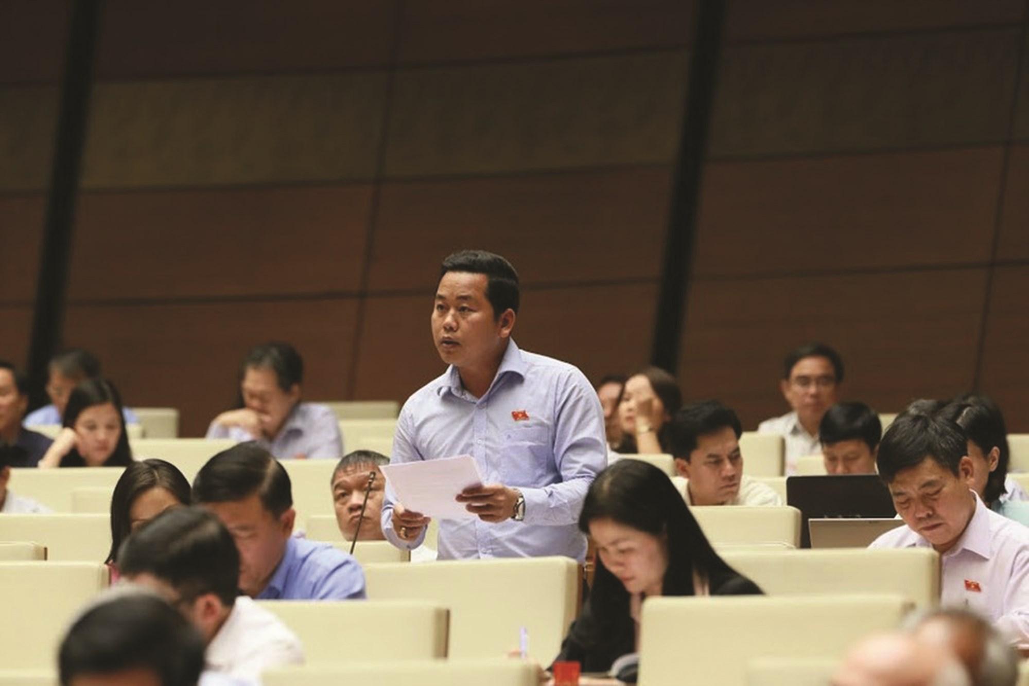 Đại biểu Quốc hội đề xuất giải pháp phát triển vùng đồng bào DTTS&MN 3
