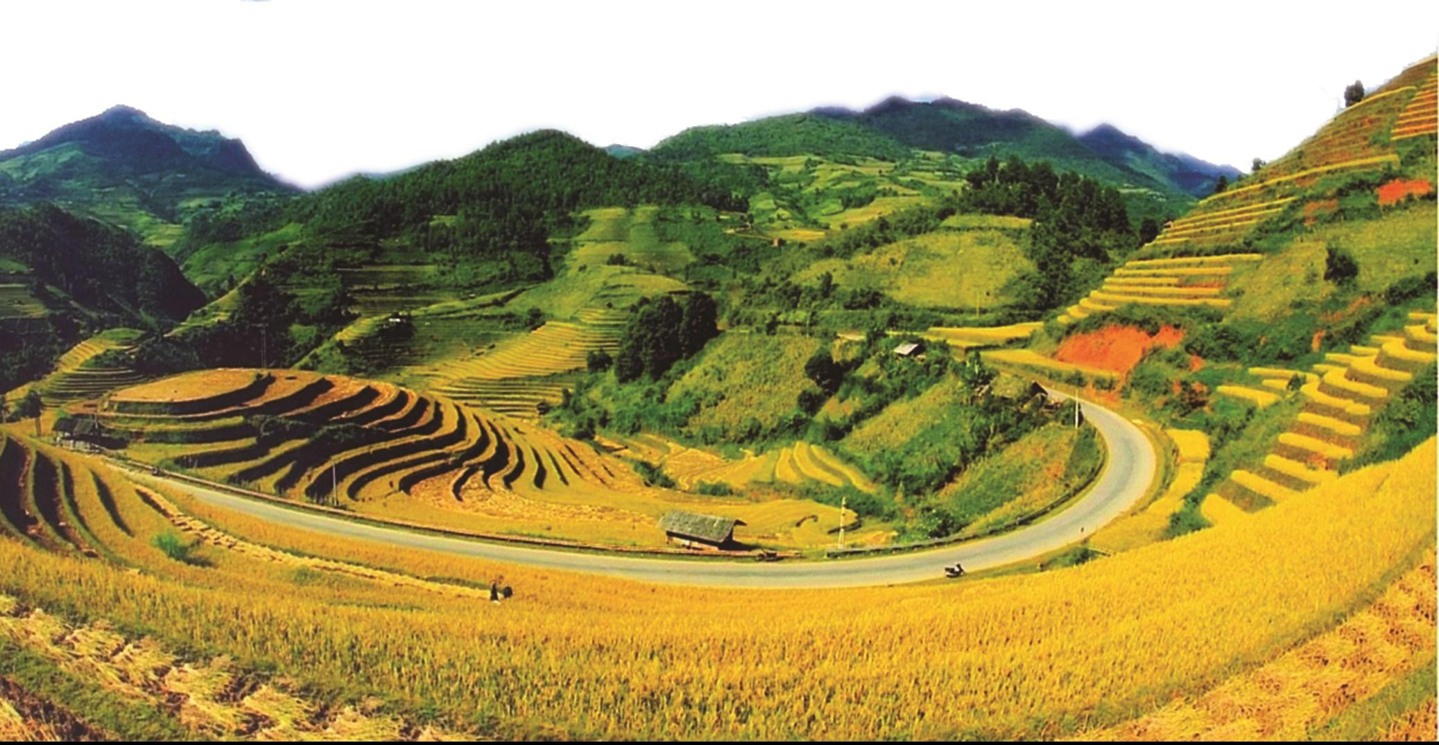 Tỉnh Yên Bái tự hào vì có danh thắng ruộng bậc thang Mù Cang Chải được công nhận là Danh thắng cấp quốc gia.