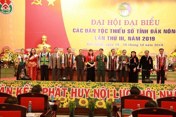 Đoàn đại biểu của tỉnh Đắk Nông dự Đại hội Đại biểu DTTS toàn quốc lần thứ II