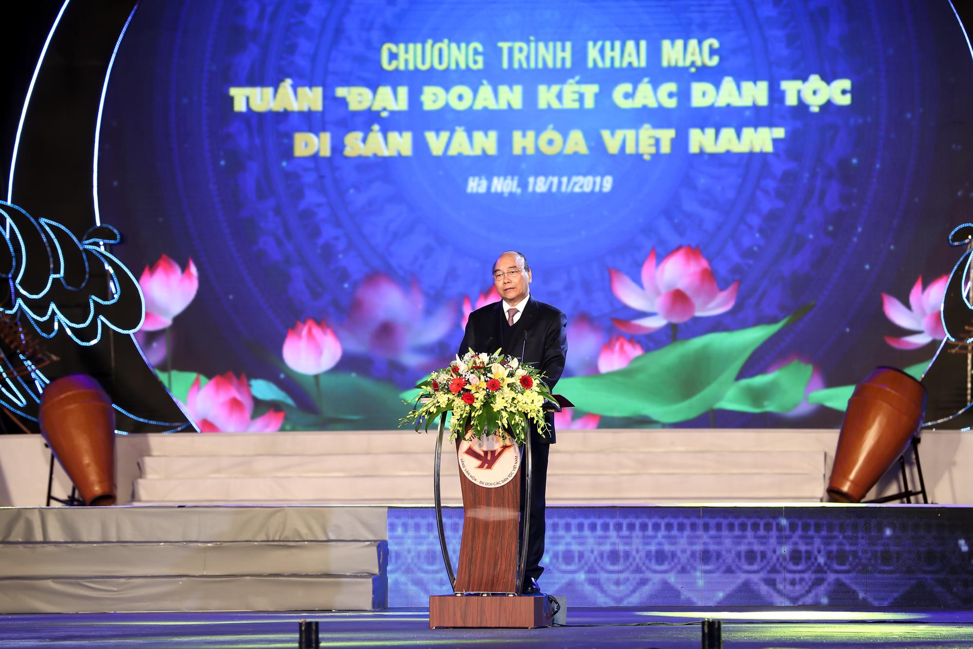 Thủ tướng Chính phủ Nguyễn Xuân Phúc phát biểu tại Lễ khai mạc