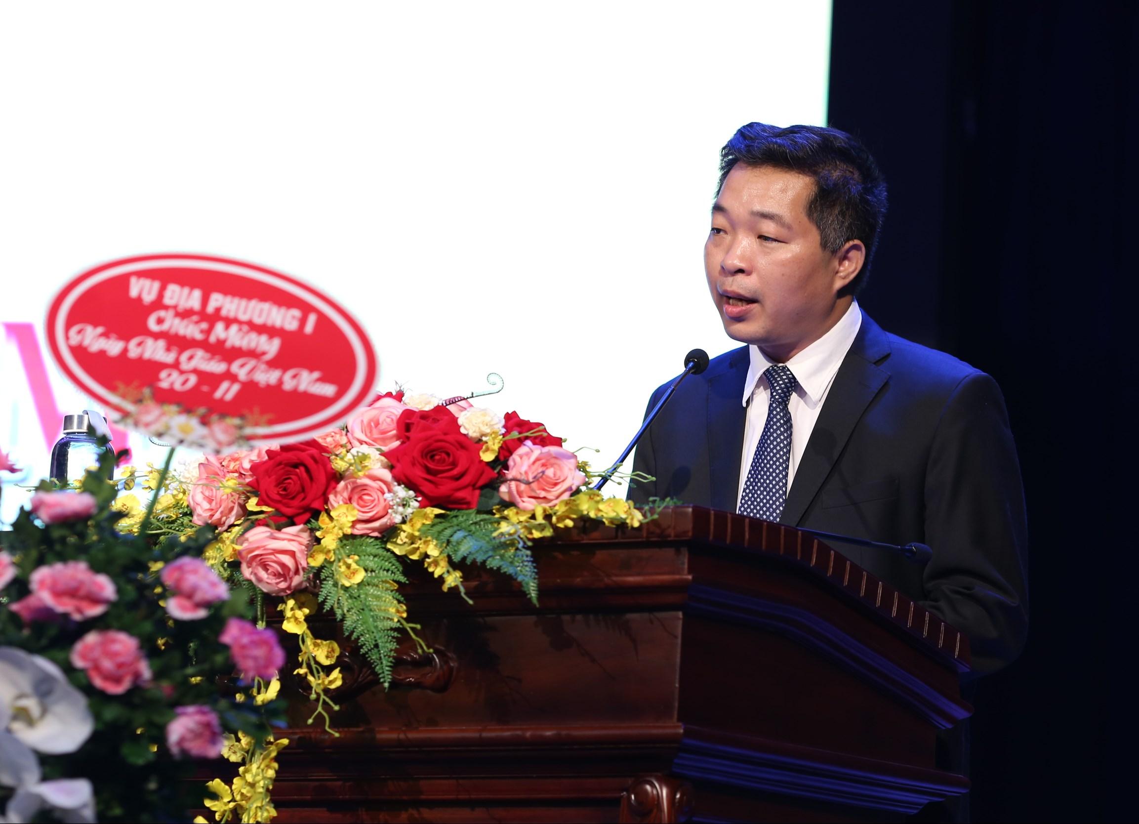 PGS.TS Trần Trung, Quyền Giám đốc Học viện Dân tộc ôn lại truyền thống của ngành giáo dục và Học viện Dân tộc