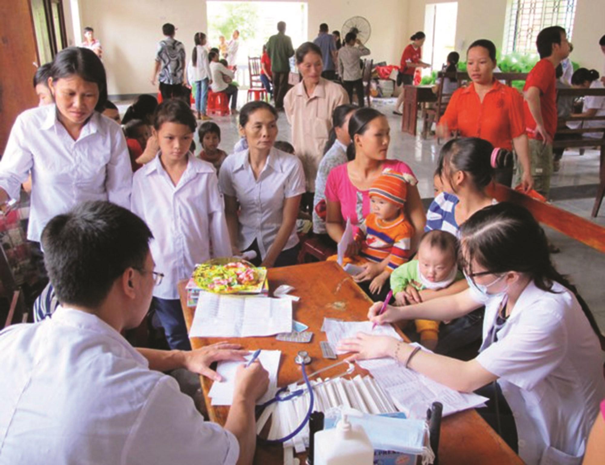 Người dân tại cơ sở đã được tiếp cận đầy đủ các dịch vụ y tế.