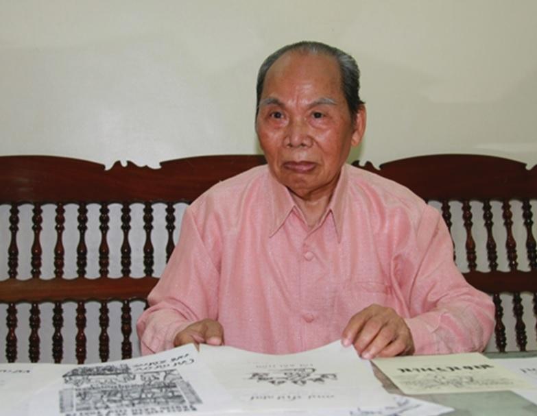 Nhà nghiên cứu văn hóa dân tộc Thái - Hoàng Trần Nghịch.