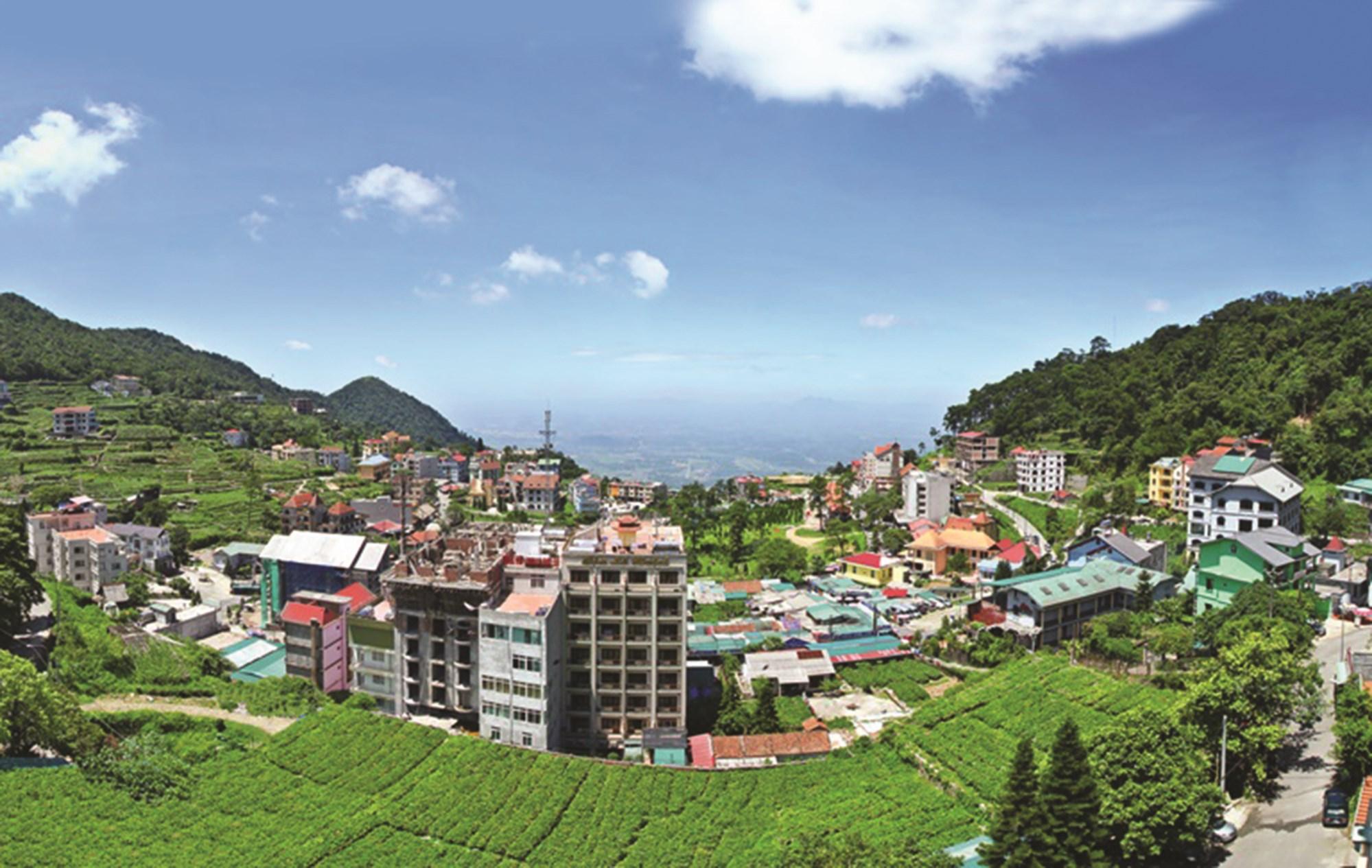 Thị trấn Tam Đảo (huyện Tam Đảo) - một trong những khu du lịch trọng điểm của tỉnh được lắp đặt, phủ sóng wifi miễn phí từ đầu năm 2014.