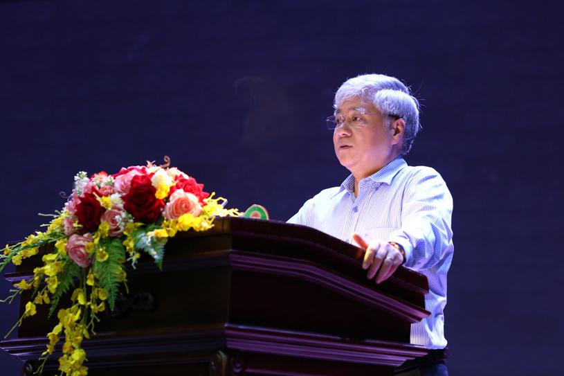 Bộ trưởng, Chủ nhiệm Đỗ Văn Chiến phát biểu tại Hội nghị
