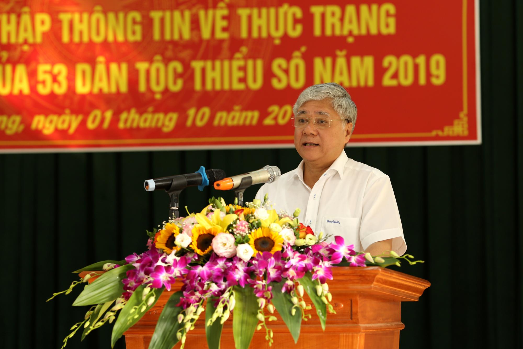 Bộ trưởng, Chủ nhiệm Đỗ Văn Chiến phát biểu tại Lễ ra quân.