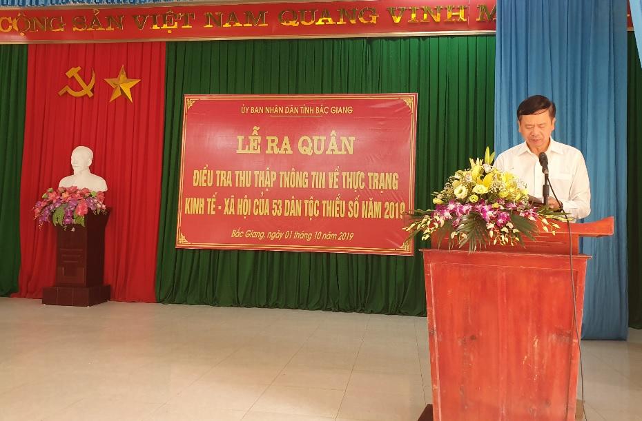 Thứ trưởng, Phó Chủ nhiệm UBDT Phan Văn Hùng phát biểu tại buổi lễ Thứ trưởng, Phó Chủ nhiệm UBDT Phan Văn Hùng phát biểu tại buổi lễ
