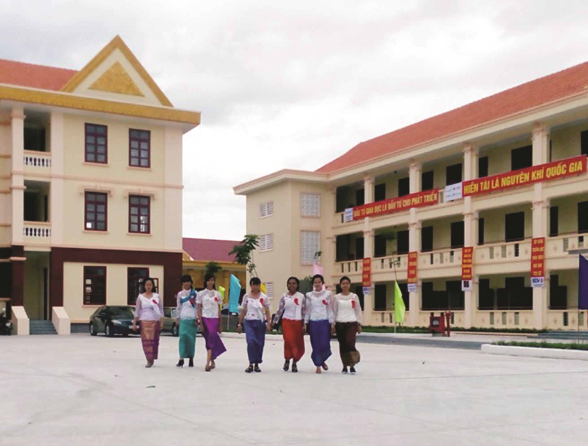 Cơ sở vật chất trường lớp từng bước được xây dựng khang trang, bảo đảm yêu cầu dạy - học. (Ảnh minh họa)