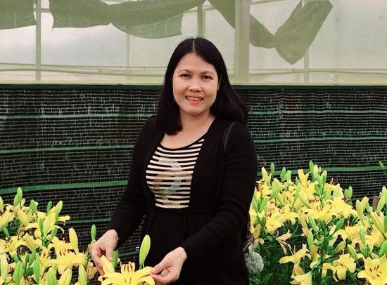 Bạn Nguyễn Thị Thanh Mai, Đảng ủy Khối Cơ quan - Doanh nghiệp tỉnh Bến Tre là người đạt giải Nhất tuần. (Ảnh:NVCC)