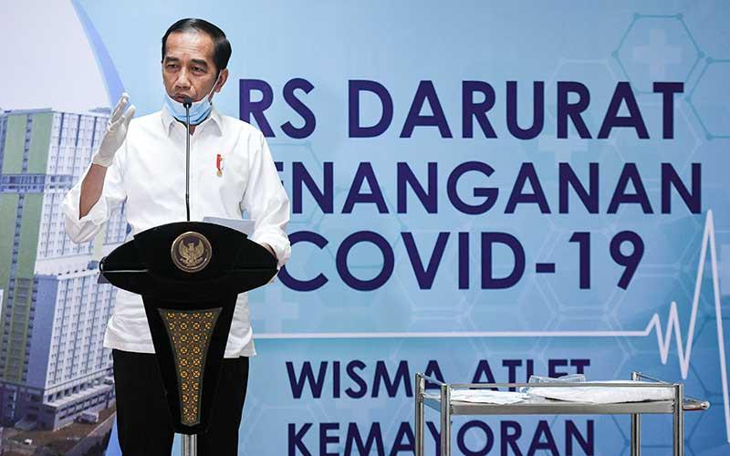 Tổng thống Indonesia Widodo. Ảnh: AP