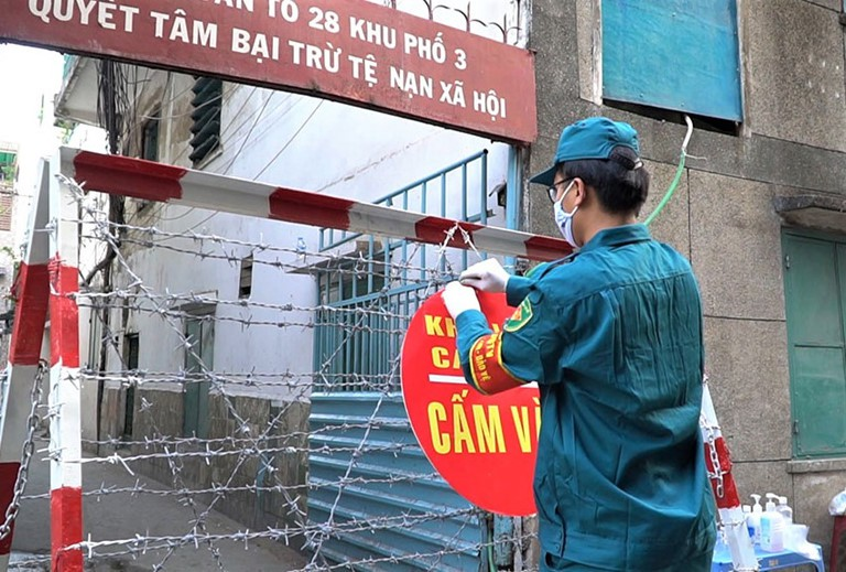 UBND TPHCM khẳng định, thông tin lan truyền trên mạng xã hội vào sáng 26-3 về việc phong tỏa TPHCM trong 14 ngày là hoàn toàn bịa đặt.