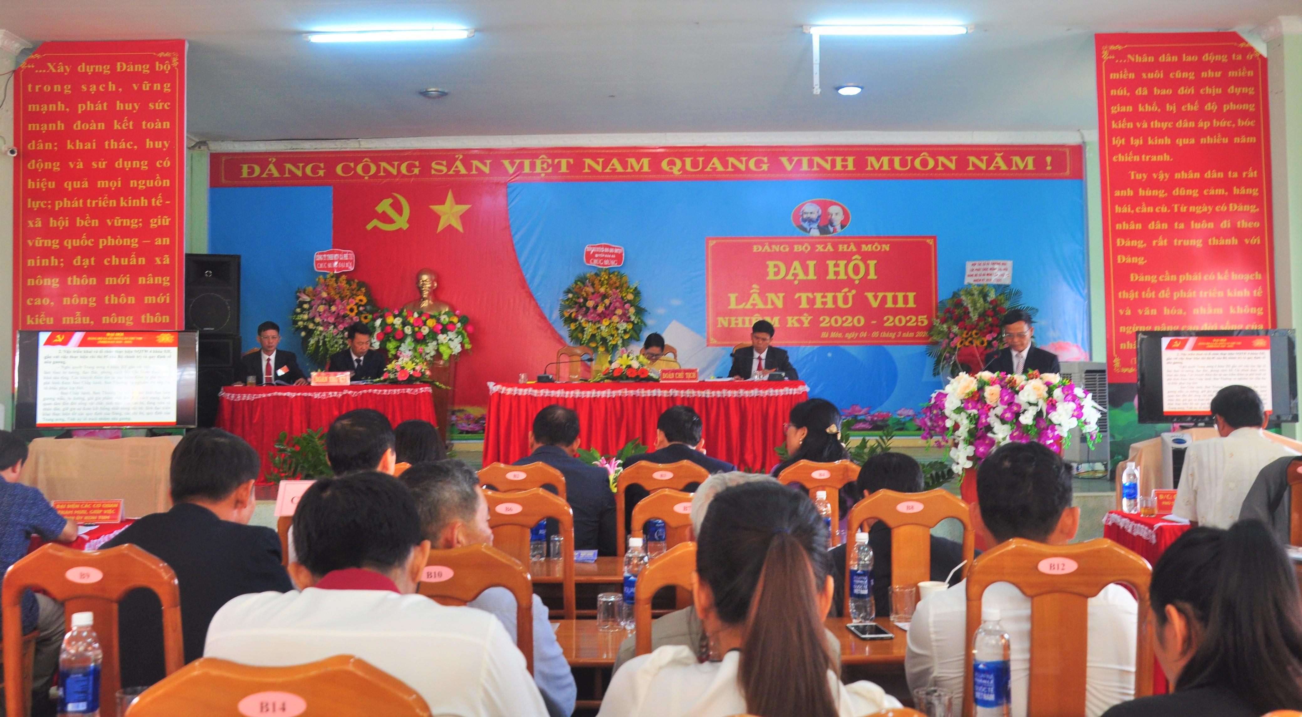 Đại hội Đảng bộ xã Hà Mòn (Đăk Hà, Kon Tum) lần thứ VIII, nhiệm kỳ 2020- 2025: Quyết tâm đạt chỉ tiêu xây dựng nông thôn mới kiểu mẫu