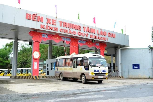 Hoạt động vận tải hành khách trên địa bàn tỉnh Lào Cai đã trở lại bình thường