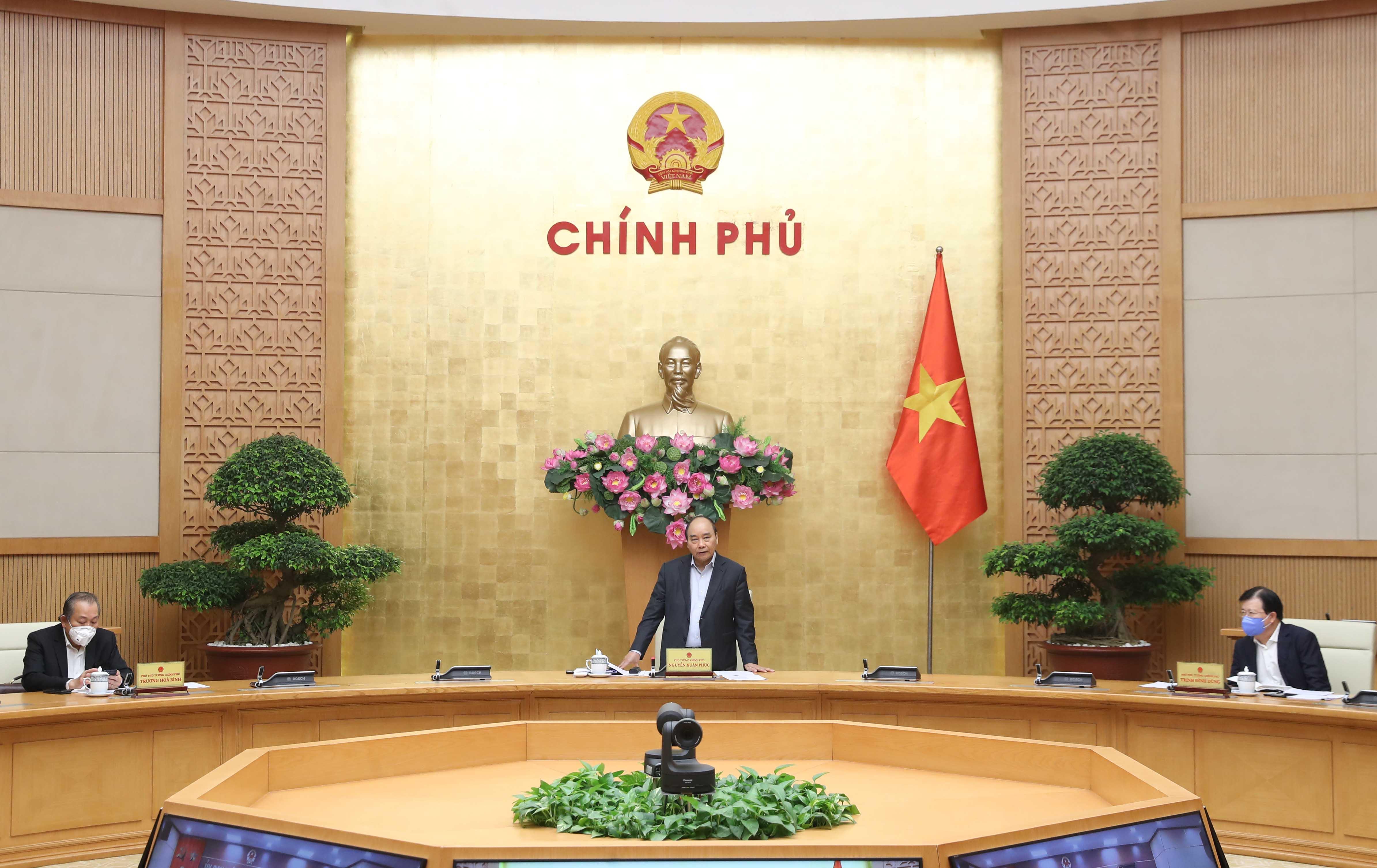 Thủ tướng phát biểu tại cuộc làm việc với tỉnh Đồng Nai. Ảnh: VGP/Quang Hiếu