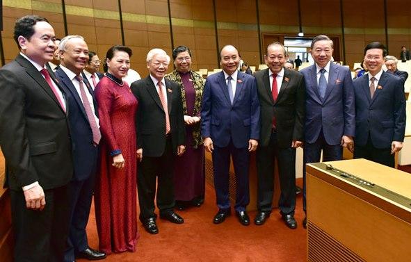 Lãnh đạo Đảng, Nhà nước dự khai mạc Kỳ họp thứ 9, Quốc hội khóa XIV.