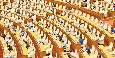 Quốc hội tiếnhành giám sát tối cao việc thực hiện chính sách, pháp luật về phòng, chống xâmhại trẻ em tại phiên họp toàn thể ngày 27/5.