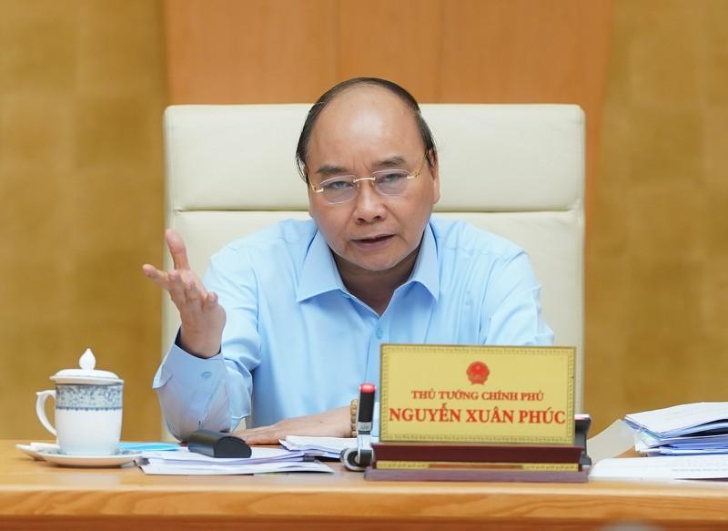 Thủ tướng Nguyễn Xuân Phúc. (Ảnh: VGP/Quang Hiếu)