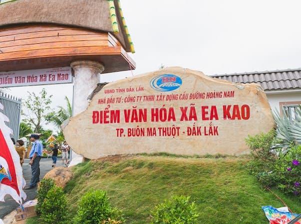 Điểm du lịch văn hóa Ea Kao - điểm đến mới cho du khách