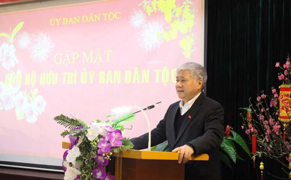Bộ trưởng, Chủ nhiệm UBDT Đỗ Văn Chiến
