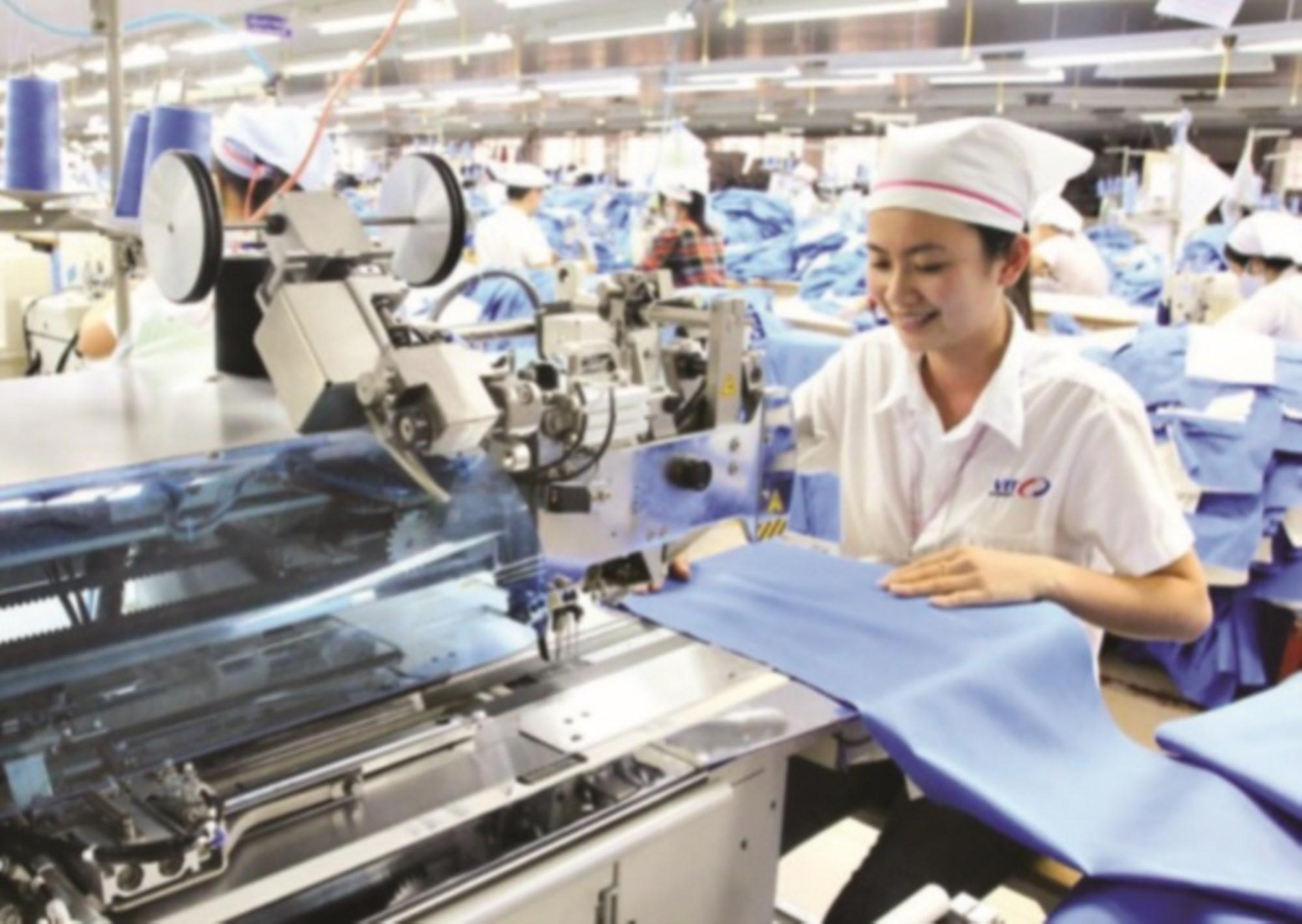 Dệt may là một trong những ngành hàng xuất khẩu thế mạnh của Việt Nam