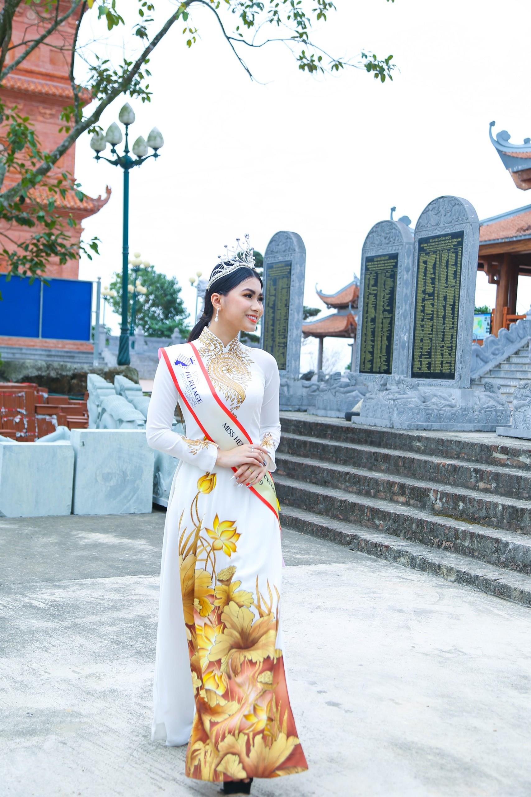 Hoa hậu Di sản Quốc tế 2019 - Amy Thảo Nguyễn