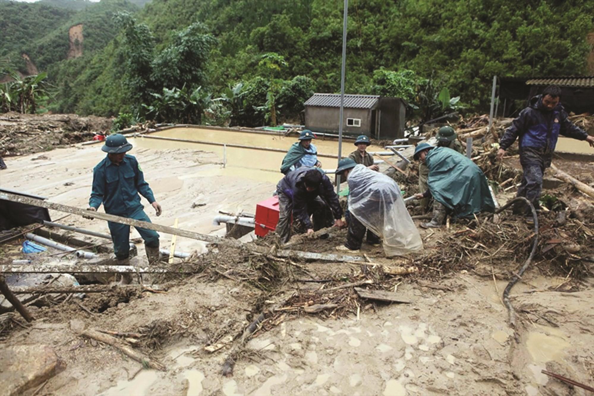 Công tác PCTT tại các tỉnh miền núi cần phải được đặc biệt quan tâm nhằm giảm thiểu thiệt hại về tính mạng và tài sản của người dân.