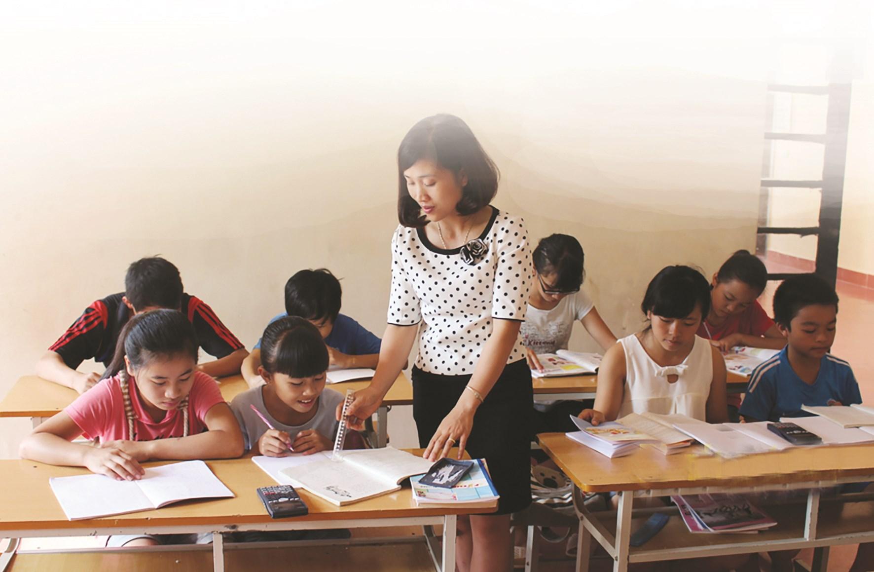 Ở Trung tâm Bảo trợ xã hội tỉnh Điện Biên, các em nhỏ được học hành, giáo dục để trở thành người có ích cho xã hội