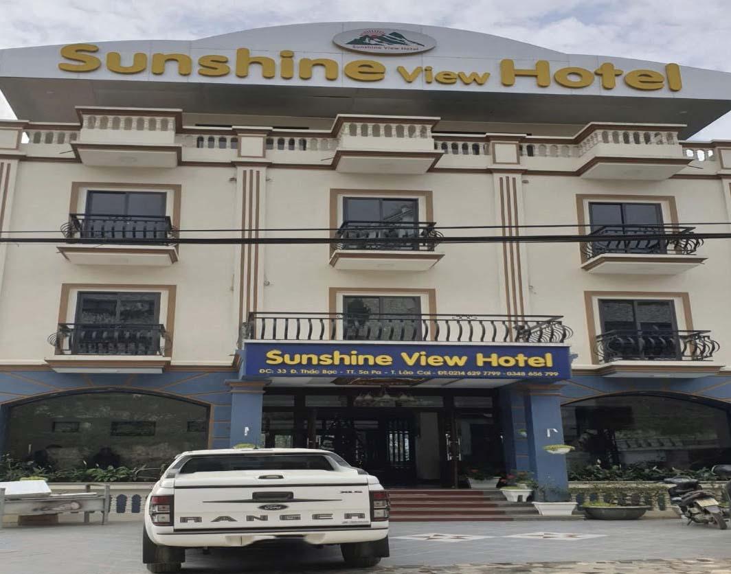 Khách sạn Sunshine View Hotel xây trái phép trên đất nông nghiệp