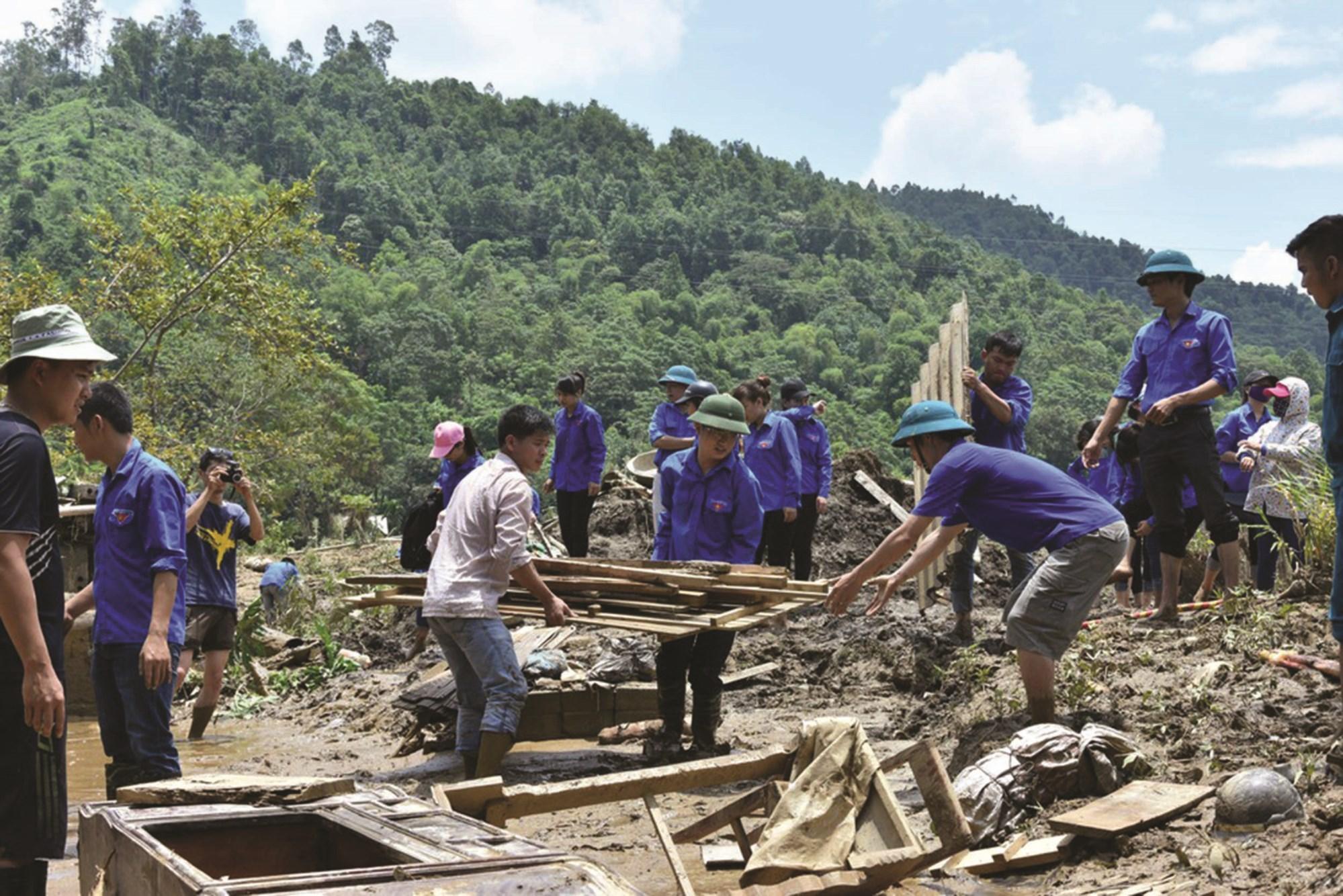 Hậu quả do thiên tai gây ra cho vùng đồng bào DTTS và miền núi là rất nặng nề.