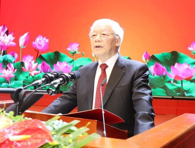 Tổng bí thư, Chủ tịch nước Nguyễn Phú Trọng. Ảnh tư liệu TTXVN