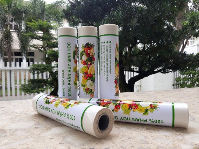 Túi đựng thực phẩm bằng nhựa phân hủy sinh học