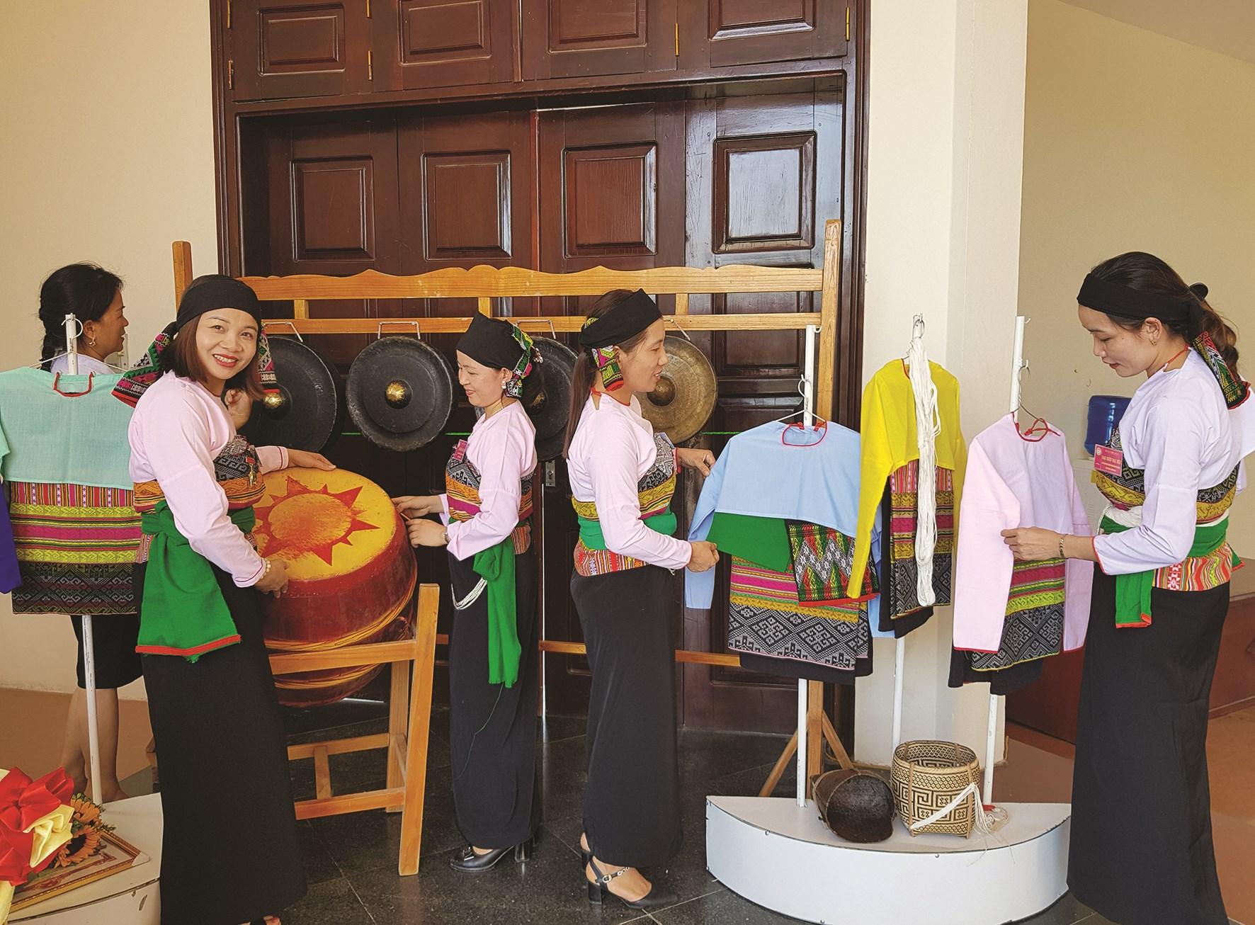 Đặc trưng văn hóa dân tộc Mường xứ Thanh được trưng bày tại Bảo tàng
