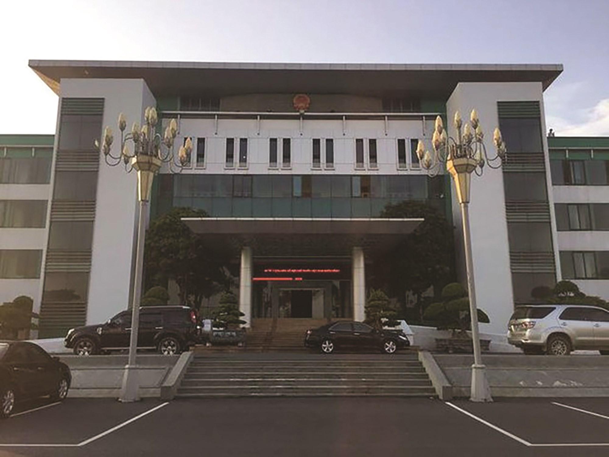 Trụ sở UBND tỉnh Phú Thọ