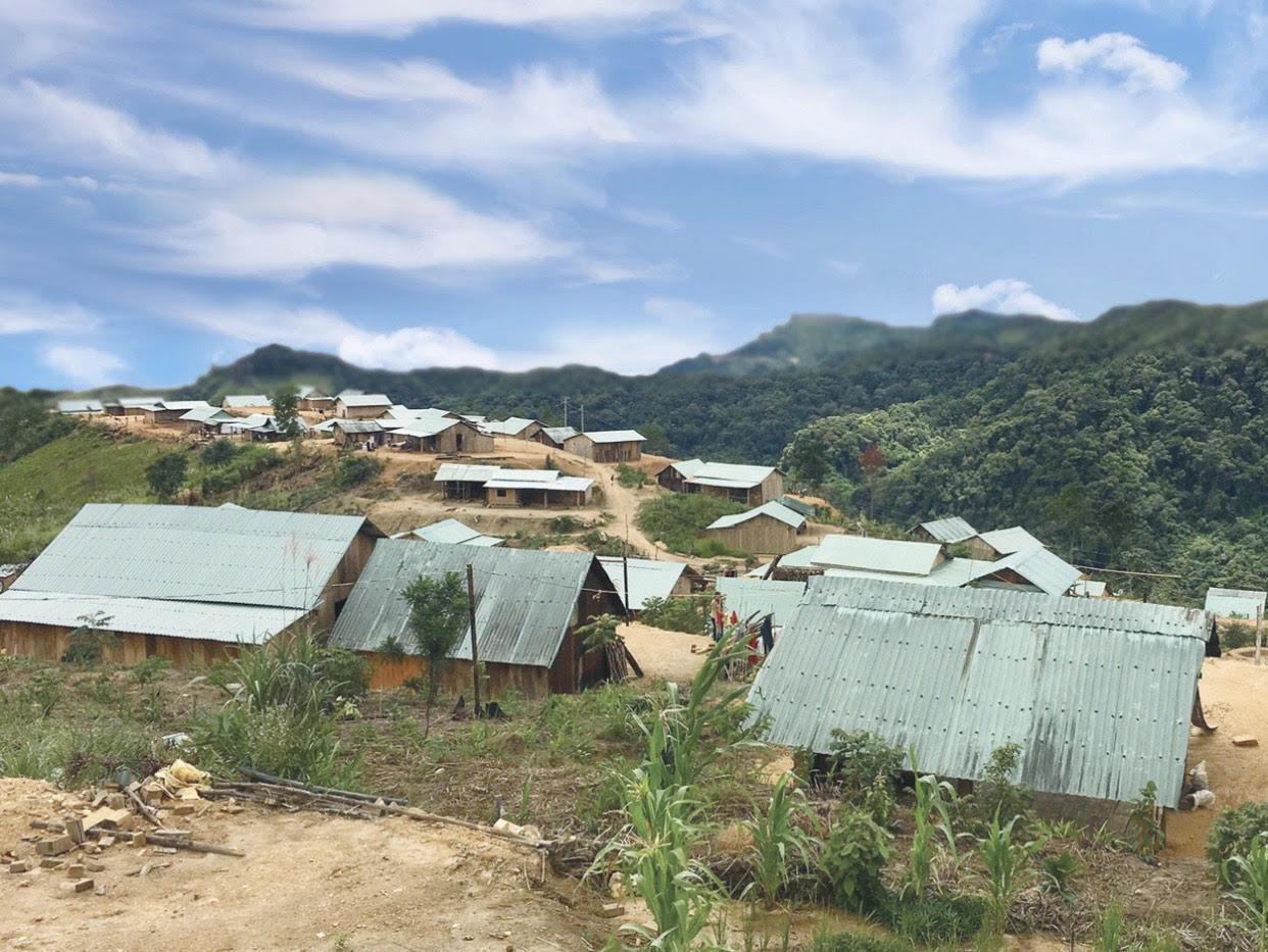 Hiệu quả từ việc triển khai chính sách giảm nghèo đã làm thay đổi diện mạo các bản làng tại xã Trà Bui, huyện Bắc Trà Mi, Quảng Nam