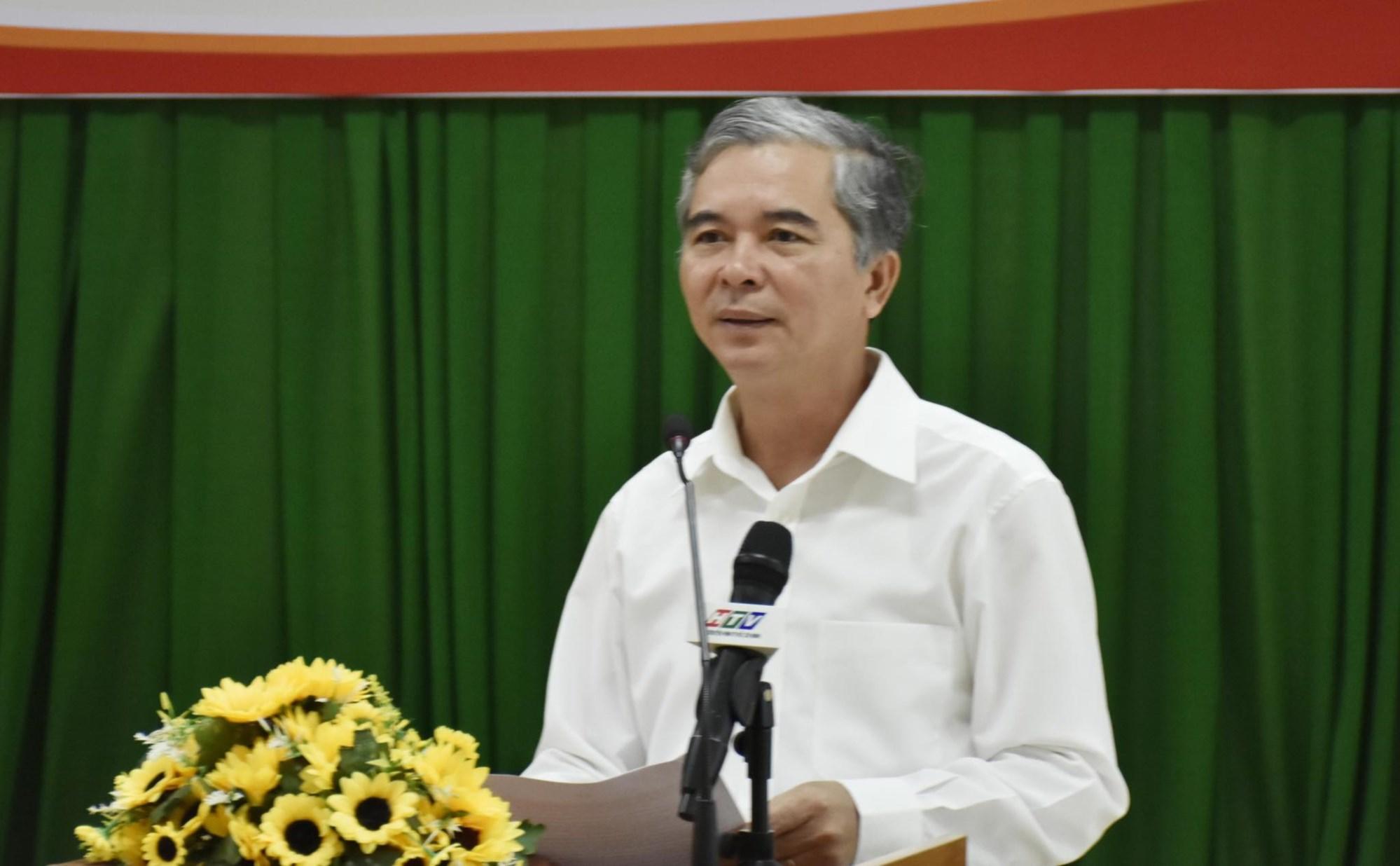 Phó Chủ tịch UBND TP. Hồ Chí Minh - Ngô Minh Châu phát biểu tại Hội nghị