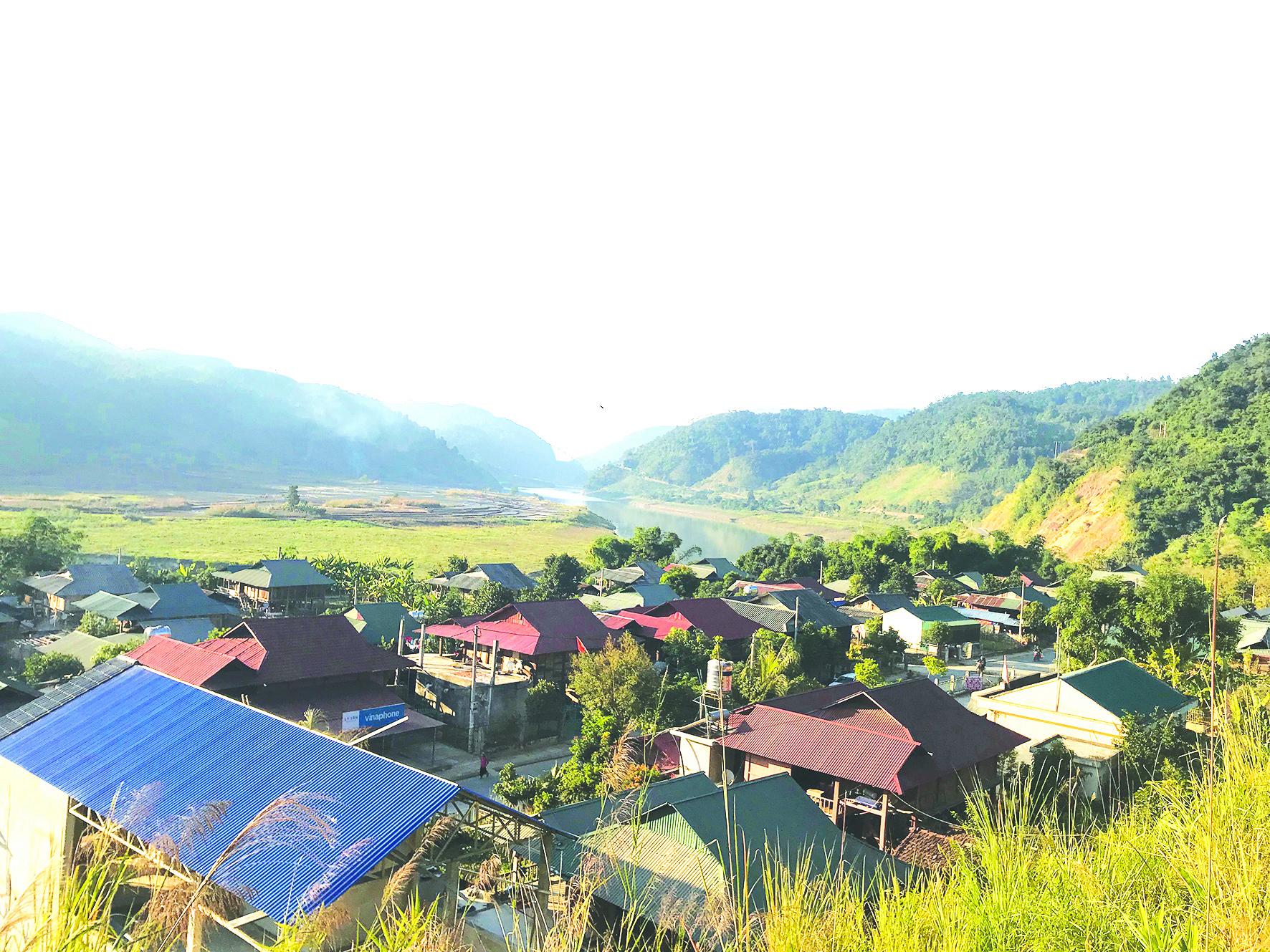 Diện mạo mới khu tái định cư bản Mường Tè, xã Mường Tè, huyện Mường Tè (Lai Châu).