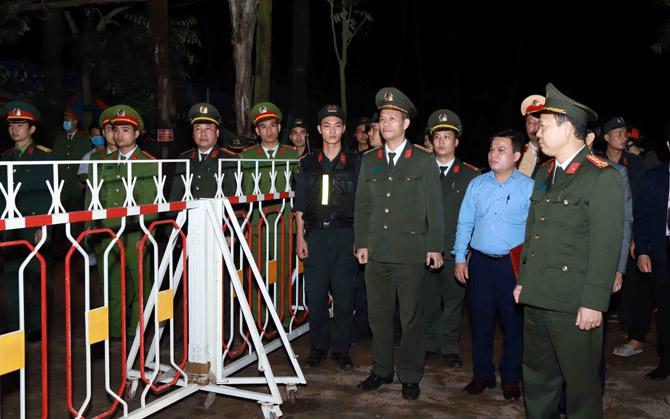 Đúng 0h ngày 4/3, 12 chốt kiểm soát covid-19 trên địa bàn xã Sơn Lôi chấm dứt hoạt động. Ảnh: Cổng TTĐT tỉnh Vĩnh Phúc