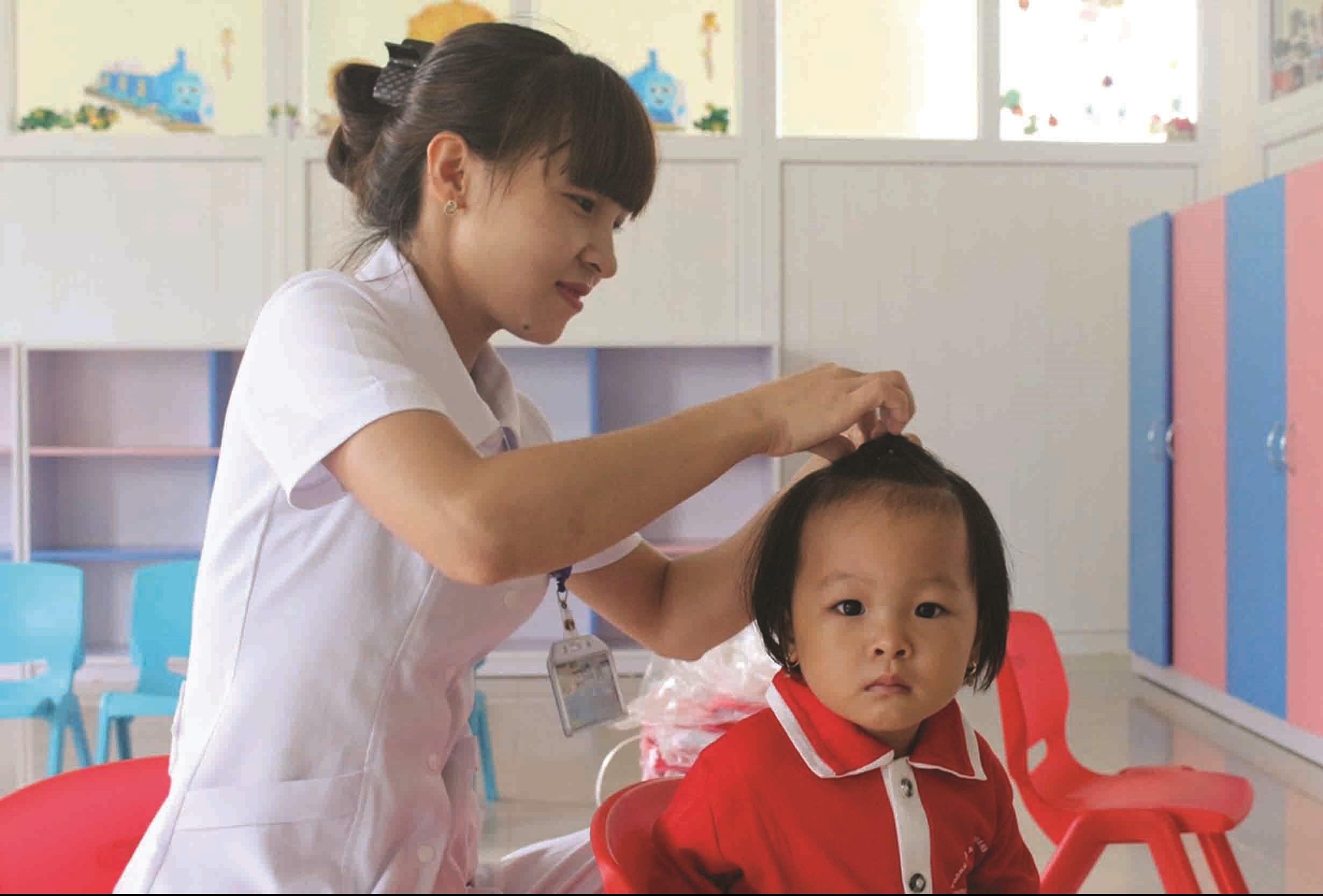 Phòng chống SDD bà mẹ, trẻ em góp phần nâng cao thể lực, tầm vóc người DTTS