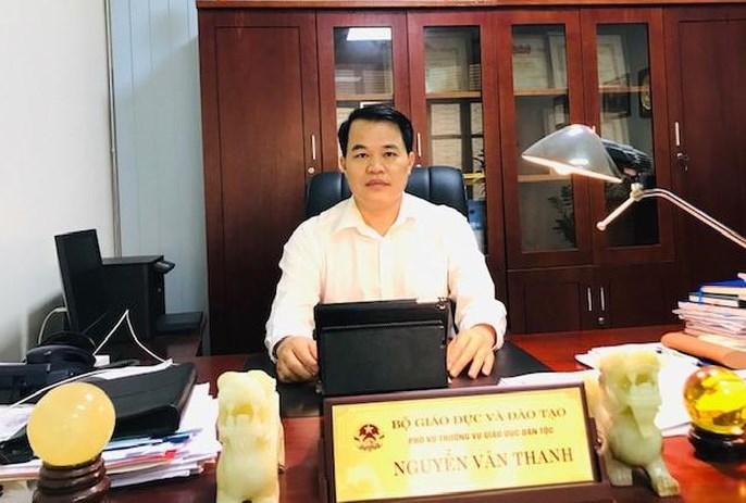 Ông Nguyễn Văn Thanh, Phó Vụ trưởng Vụ Giáo dục Dân tộc
