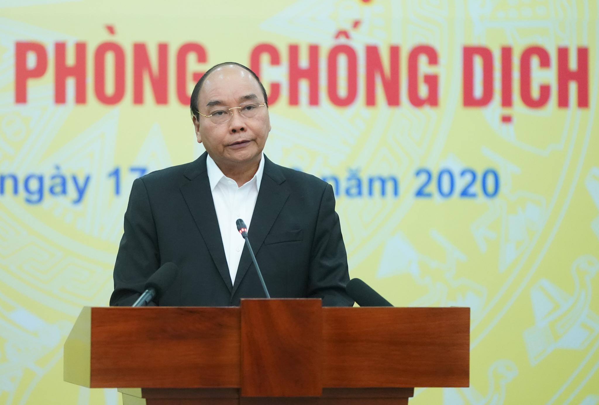 Thủ tướng Nguyễn Xuân Phúc phát biểu tại lễ phát động - Ảnh: VGP/Quang Hiếu