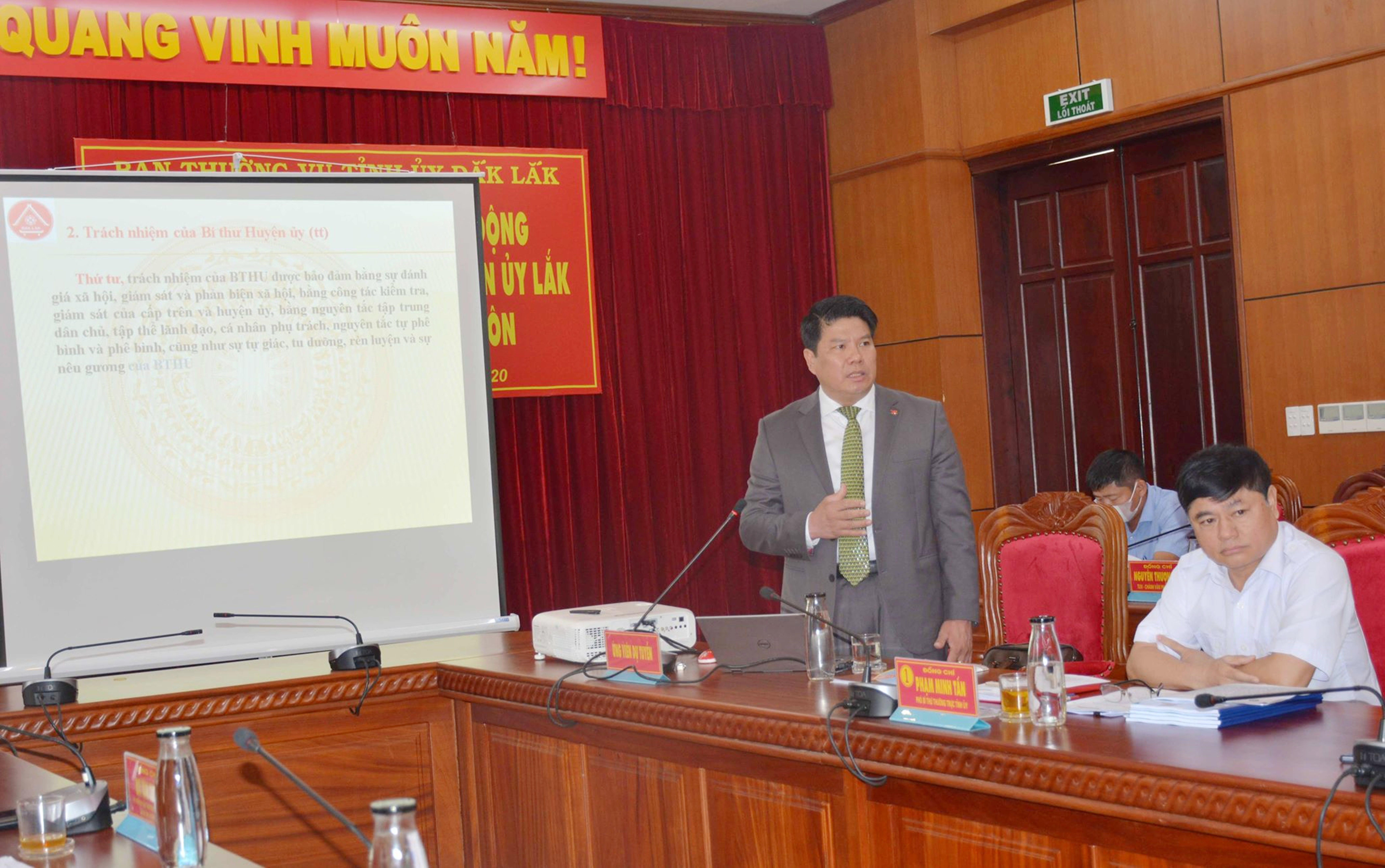 Ông Nguyễn Văn Hà ứng viên vị trí Bí thư Huyện ủy Buôn Đôn