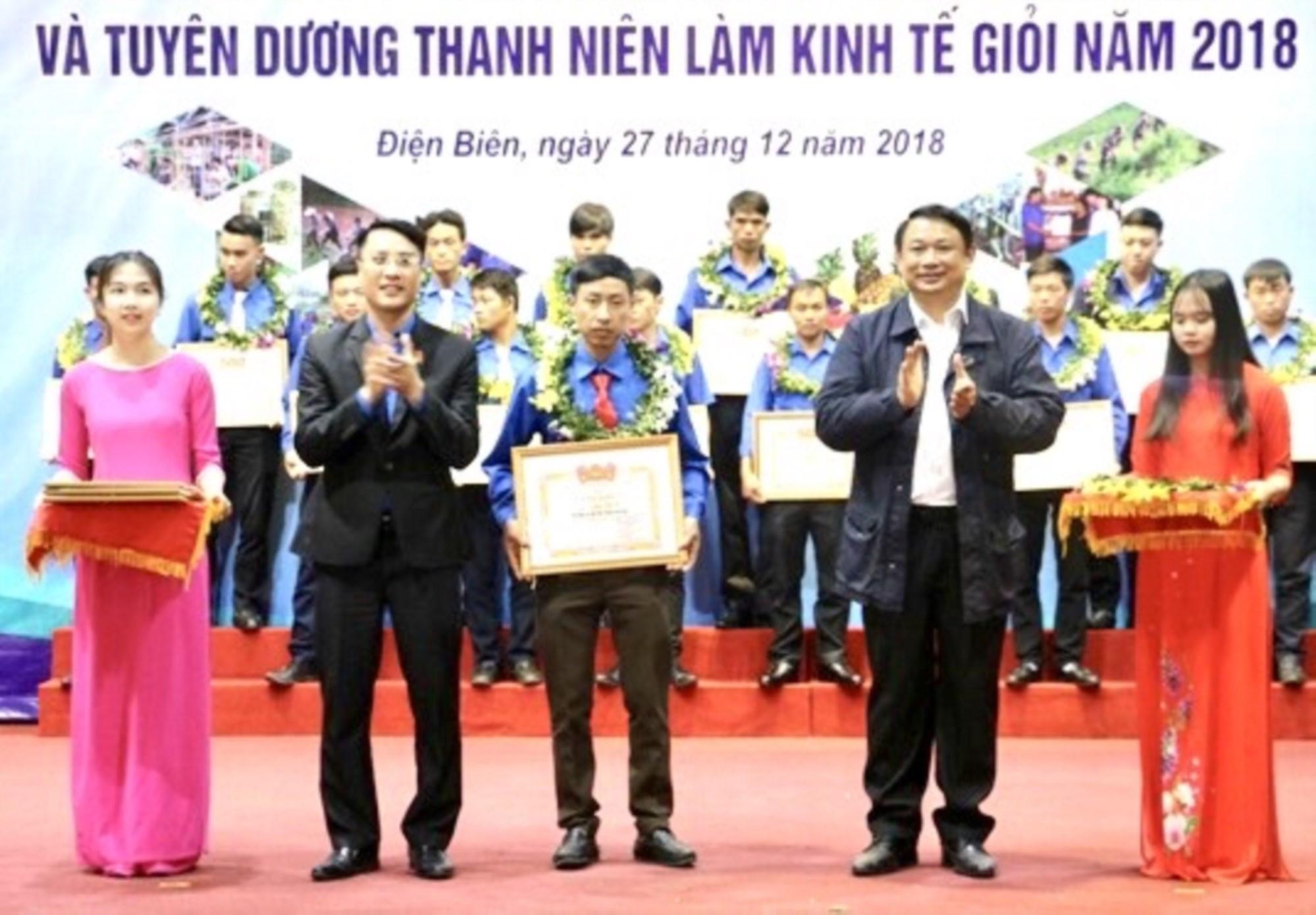 Chu Công Khánh được tôn vinh là thanh niên tiêu biểu trong phát triển kinh tế