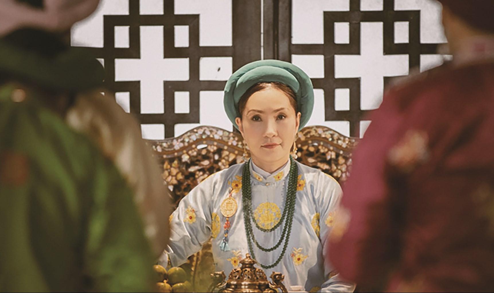 """Một cảnh trong phim """"Phượng Khấu"""" - bộ phim cổ trang Việt Nam được sản xuất để chiếu độc quyền trên ứng dụng giải trí POPS"""