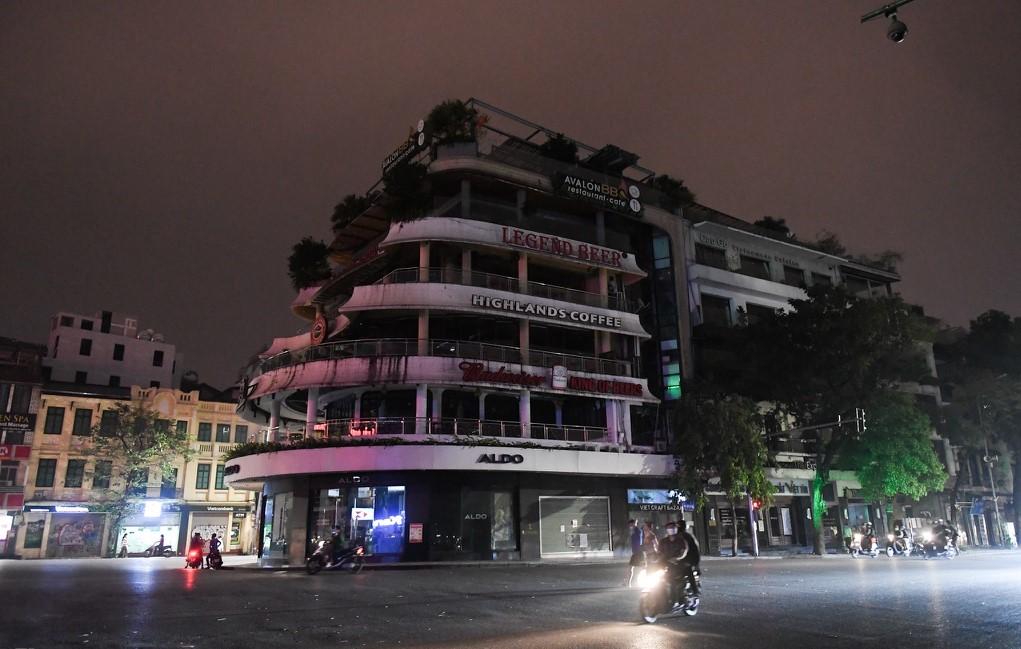 Hình ảnh Thủ đô Hà Nội tắt đèn hưởng ứng Giờ trái đất 2020 giữa đại dịch Covid- 19 (ảnh tư liệu)
