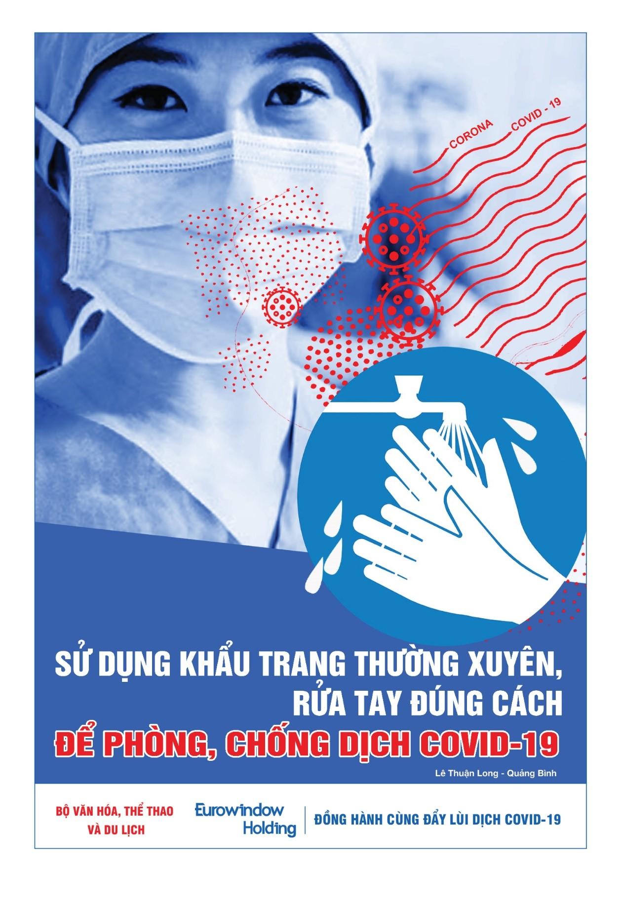 14 tác phẩm xuất sắc đạt giải Cuộc vận động sáng tác Tranh cổ động phòng chống dịch bệnh Covid-19 3