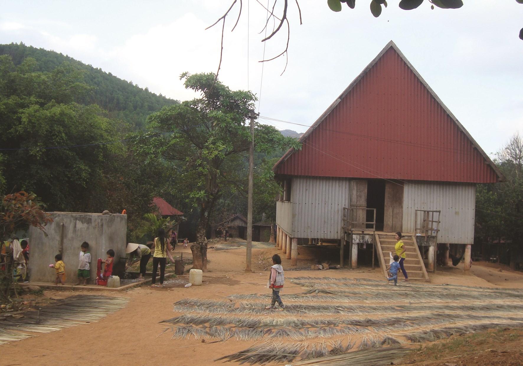 Làng Cát là 1 trong 3 làng vừa được UBND tỉnh Bình Định đồng ý chủ trương đầu tư lưới điện