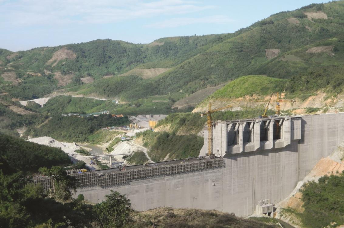 Thủy điện Đăkđrinh ở Quảng Ngãi đang thiếu nước trầm trọng