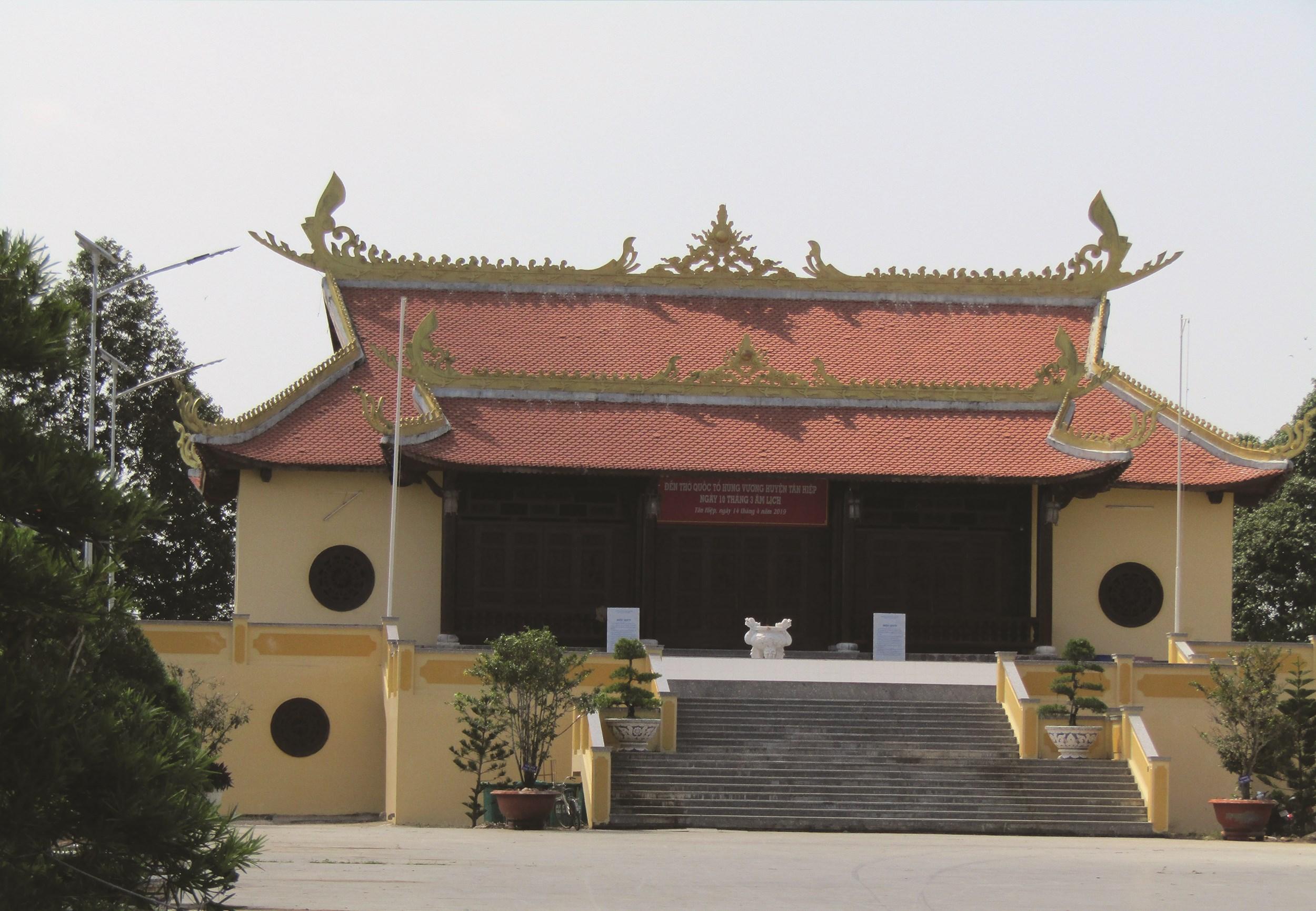 Đền thờ Vua Hùng thị trấn Tân Hiệp, huyện Tân Hiệp, Kiên Giang