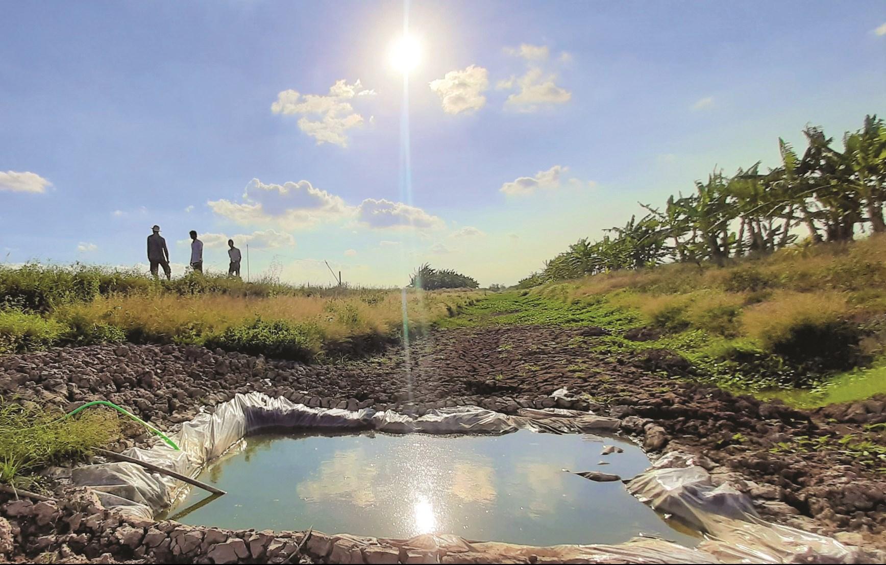 Hạn hán, xâm nhập mặn thường xuyên đe dọa ĐBSCL. (Ảnh minh họa)