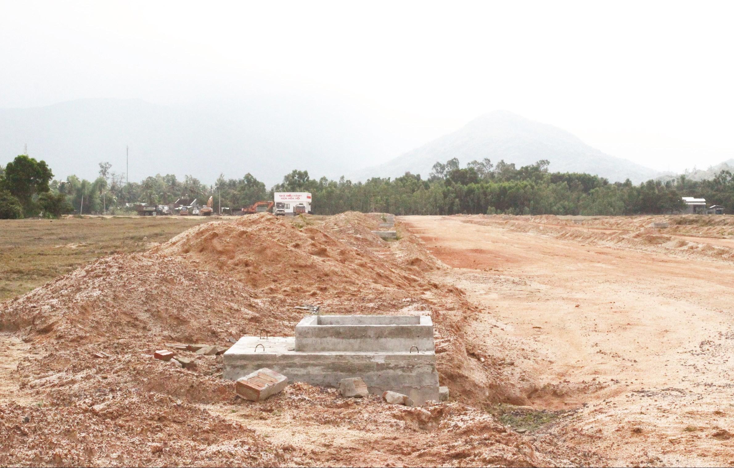 Hơn 11 năm nay, KCN Hòa Hội mới chỉ xây dựng được vài hạng mục công trình nhỏ